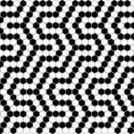 MINI HEXAGON Coral 2x2 Pattern