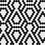 MINI HEXAGON Lace 2x2 Pattern