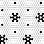 MINI HEXAGON Snow 2x2 Pattern
