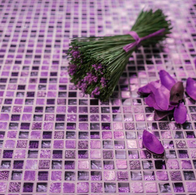 Ultra Violet w łazience