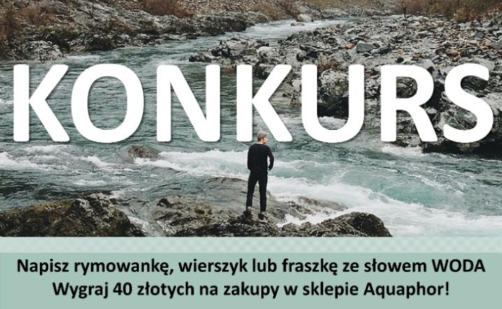 Napisz Rymowankę Wierszyk Lub Fraszkę Ze Słowem Woda