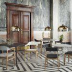 Normann Copenhagen Herit Chair Armchair Union Table Grant Pendant