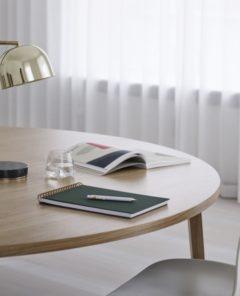 Normann Copenhagen Grant Table Lamp Brass Slice