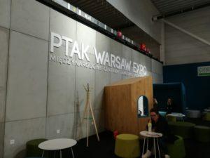 Wnętrze na targach Warsaw Home