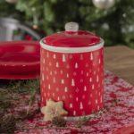 Dekoria.pl, pojemnik Christmas Trees red