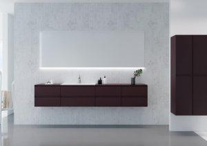 Kolekcja mebli łazienkowych GUADIX | Defra
