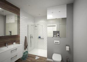 Modułowe meble łazienkowe