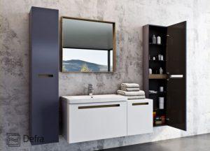 Kolekcja mebli łazienkowych SENSO| Defra