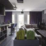 Męski wnętrze mieszkania wPoznaniu, Mandalinci Studio