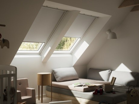 VELUX_FOTO_rolety dekoracyjne wewnętrzne naokna dachowe